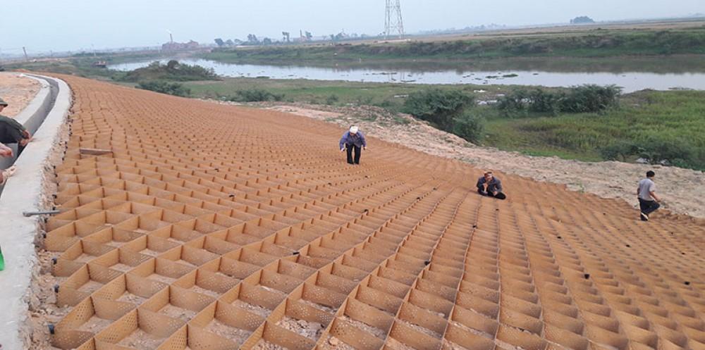 Dự án Đê Tả Cà Lồ - Huyện Sóc Sơn - Hà Nội
