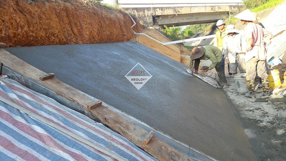 Dự án Nâng cấp kênh thủy lợi Thạch nham-Neoloy gia cố Kênh N10