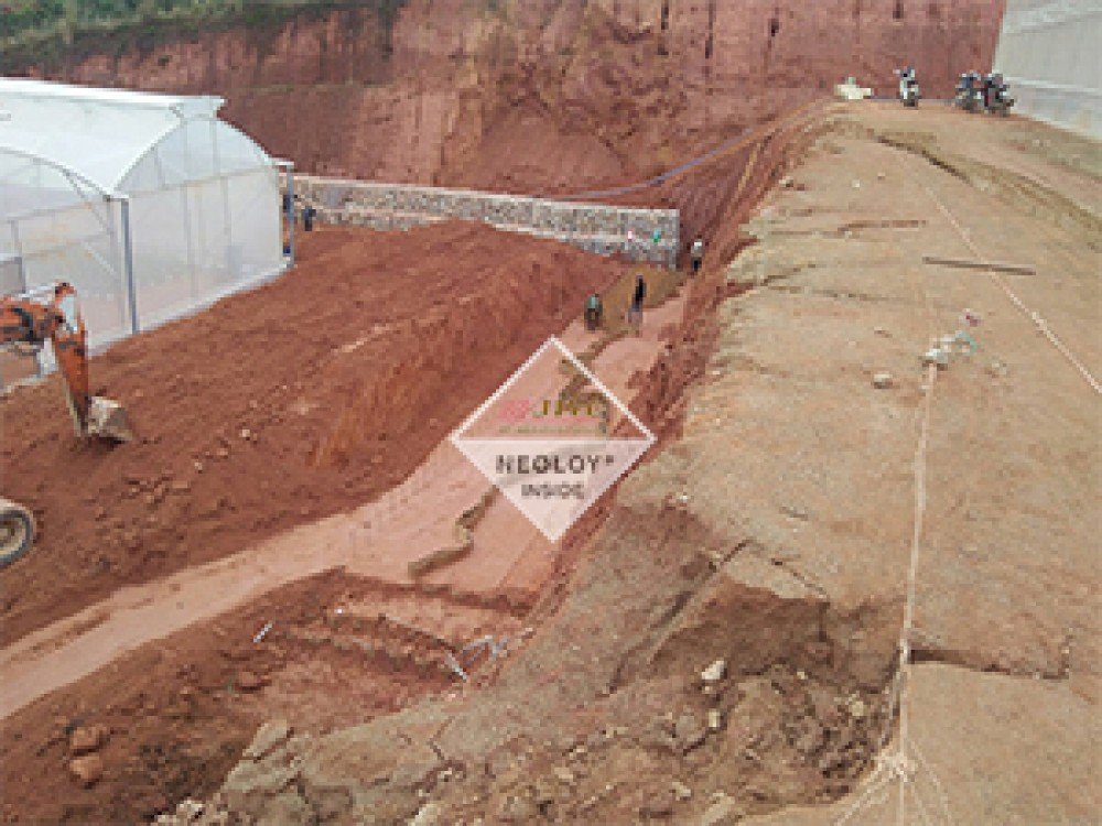 Dự án Neoloy áp dụng cho Tường chắn_ Khu Công Nghiệp Đạ Nhim, Lâm Đồng
