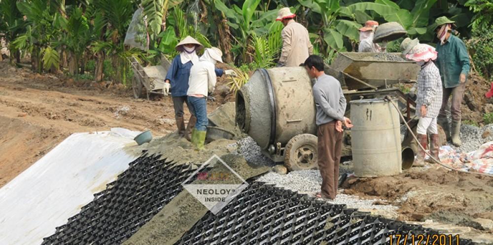 Dự án Neoloy gia cố - Kênh Bản Nguyên Phú Thọ