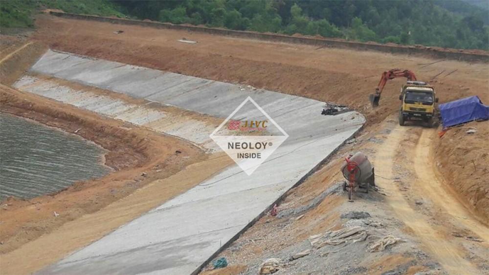 Dự án Neoloy Gia cố mái Hồ Tân Dân
