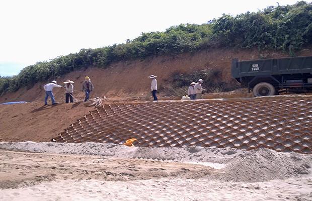 Dự án gia cố mái dốc Neoweb tại Sơn Trà - Đà Nẵng