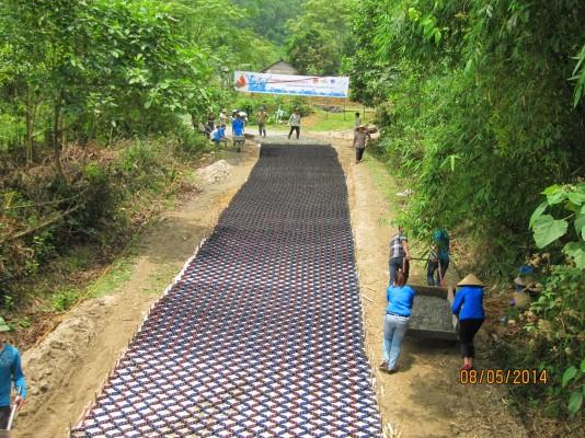 Dư án Đường Giao thông nông thôn-Xã Yên Mông- Hòa Bình