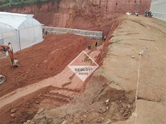 Dự án Neoweb áp dụng cho Tường chắn_ Khu Công Nghiệp Đạ Nhim, Lâm Đồng