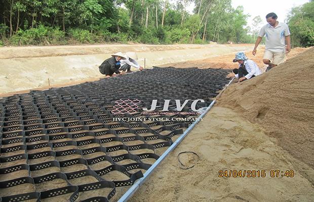 Dự án Neoweb gia cố Kênh Phú Ninh tại Quảng Nam