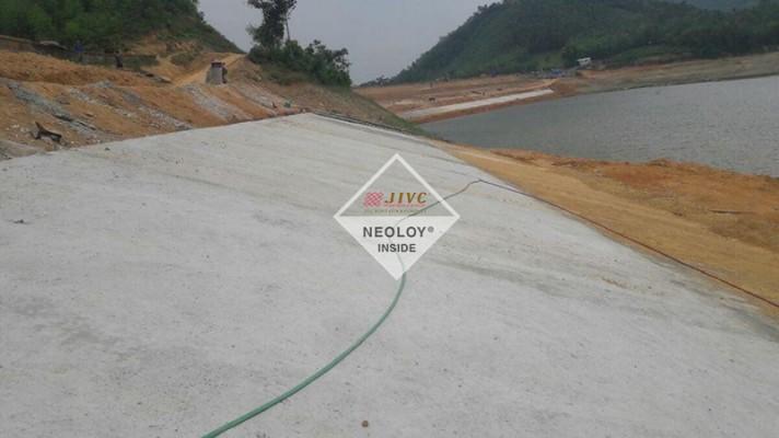 Dự án Neoweb Gia cố mái Hồ Tân Dân