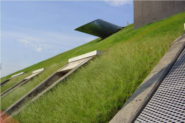 Công nghệ neoweb/ Neoloy gia cố mái dốc, mái taluy, mái hạ lưu đập Hồ chứa nước